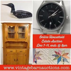 Hutch, Decor, Pine Dresser, End Tables, Collectibles, Jewellery, Antiques, Tools, Carvings, Dishes, Gold, New In Box