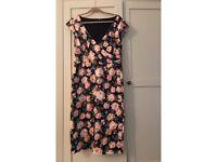 Laura Ashley cotton flower dress size 16