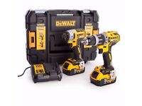 Brand new Dewalt Twin Pack 5Ah Combi & Impactor Kit - Not Bosch makita Milwaukee