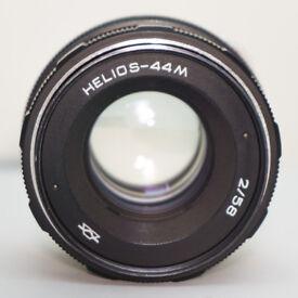 Helios 44M 58mm f/2 lens