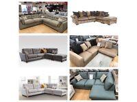 HALF PRICE Corner sofas from £499