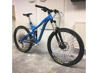 "Norco Range 650b 2015 27.5"" wheel, medium frame, enduro AM all mountain bike"