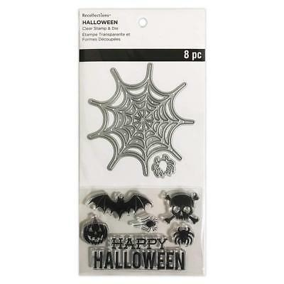 Recollections Halloween Stamps & Dies, Spider & Web](Halloween Spider Web Crafts)