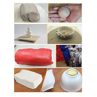 800g Soft Clay Modeling Air Dry White Modeling Clay for Kids DIY Art Project Air Dry Clay Projects