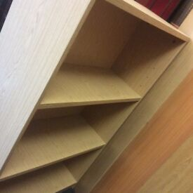 Reduced bookcase / shelving unit
