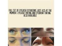 Eyelash Technician (Extensions, Tinting)