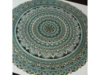 Hand Drawn and Painted 40cm Mandala Piece