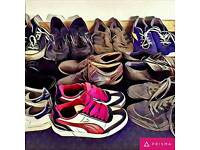 Your old and unwanted shoes