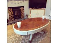 Freshly upcycled coffee table