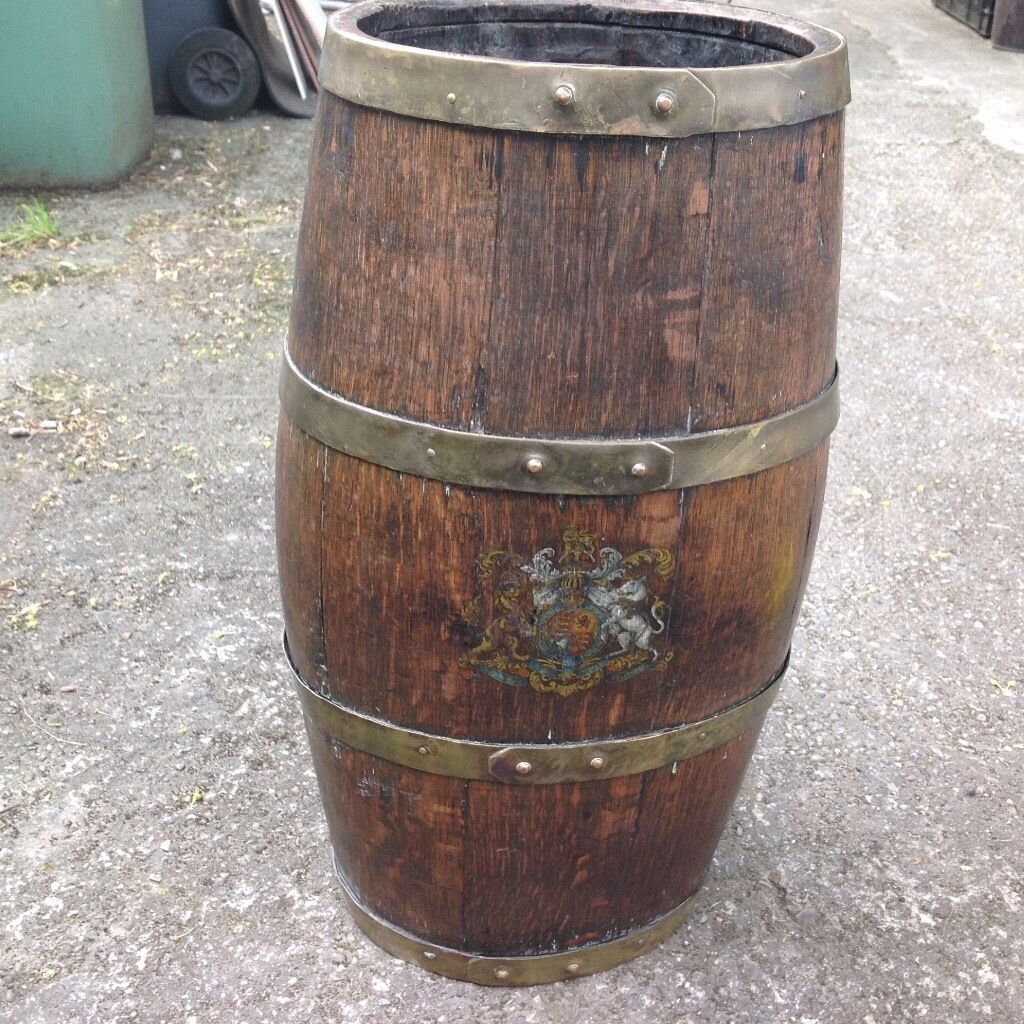 Old shipsnaval)rum cask with customs seal intact, 1900 perhapsin Thornton Cleveleys, LancashireGumtree - Free standing rum cask. Late 1800s early 1900,? Still has the customs seal ,good for large ornament in naval home or similar.English OAK.can be seen Thornton lancs .a