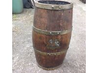 Old ships ( naval)rum cask with customs seal intact, 1900 perhaps