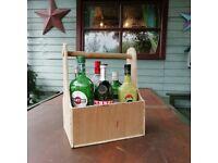 6 bottle wine or beer caddy