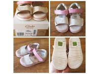 Clarks Infant Shoes 5F
