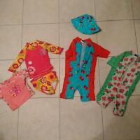 Girl's bathing suits - size 2