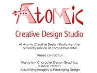 CREATIVE DESIGN OFFERED. GRAPHIC DESIGN, ILLUSTRATOR & PHOTOSHOP. FOR YOUR BUSINESSES