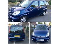 TOYOTA YARIS VERSO MPV / MERCEDES A200 / CHEVRELOT SPARK PLUS / BMW 118d / VAUXHALL ZAFIRA FOR SALE