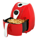 Zeny Oil Less Air Fryer Healthy Cooking Red 1500W Frying French Fries NEW