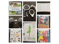 Wii Games, Accessorises, Balance board, Charging Station