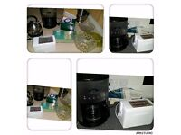 kitchen bundle Kettle, toaster, coffee maker or different thing