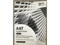 Brand New Final Accounts Preparation AQ2016 Level 3 AAT BPP Question Bank