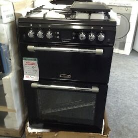 New/graded 60cm gas cooker 12 months guarantee