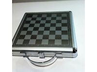 Executive Gift Travel 3 and 1Chess Checker and Backgammon case plus games