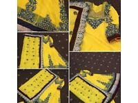 Asian Mehndi Dress - No Time Wasters