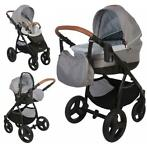 Bo Jungle B-Zen Stroller Grijs 5 in 1 Combi Kinderwagen (inc