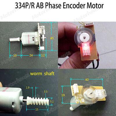 Mabuchi Fc130sa Ab Phase Pulse Speed Encoder Motor Tachometer Motor Code Disk