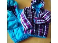 Children's north face jackets