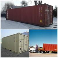 Shipping containers for sale...great prices
