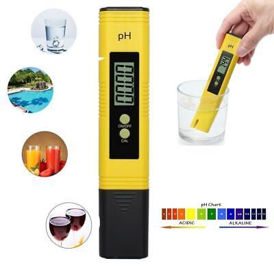 Tester di qualità dell'acqua per piscine con misuratore di pH digitale con