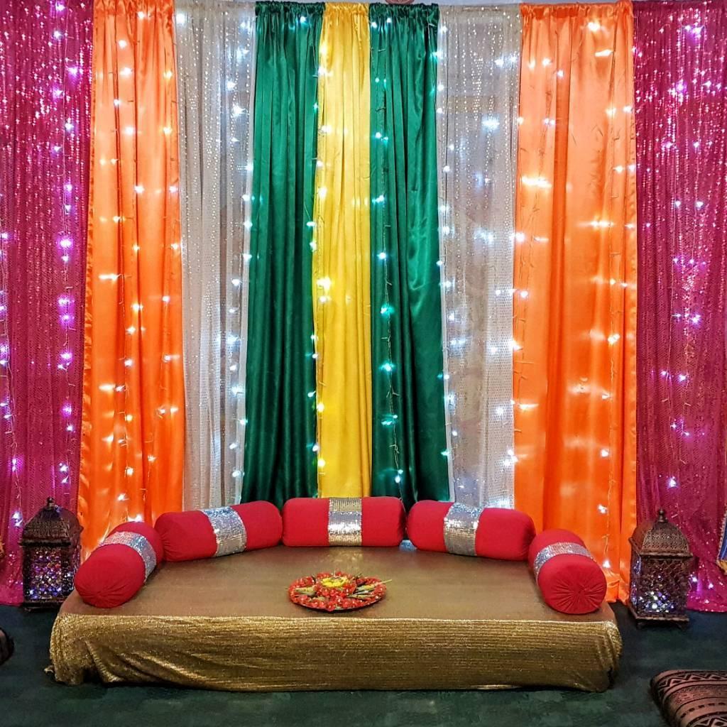 Marquee/Sangeet /henna Stages
