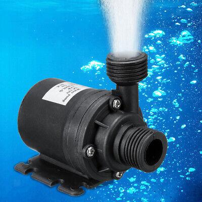 Ultra Quiet Mini Submersible Water Pump Dc12v Brushless Motor 800lh Lift 5m