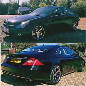 Mercedes CLS 320cdi 7G / Black / FSH / Upgrades