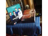Complete Inbetweeners Box set,,and Complete Collection of Die Hard Movies Box set all as New