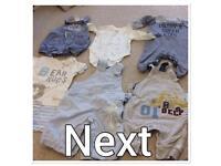 0-3 Month Boys clothes bundle