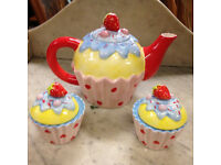 Lovely new quirky teapot set