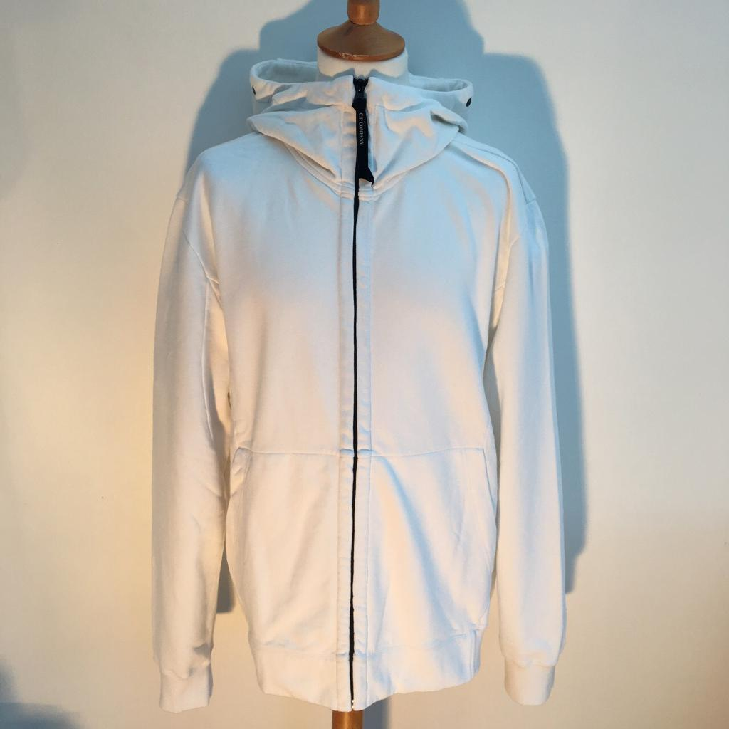 Men's CP Company Full Zip Goggle Hoodie