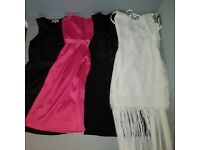 4 dresses, size 12, women