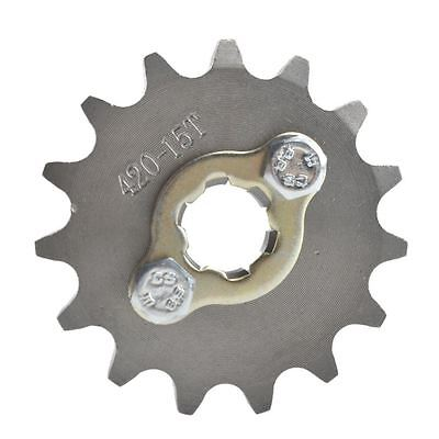 Scooter ATV 17mm 420 15T Engine Sprocket For Lifan Yx 110cc 140cc 150cc Engine