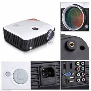 2500 lumens quality LED LCD Projector USB HDMI AV VGA TV Home Noble Park Greater Dandenong Preview