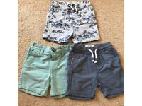 Will post. Like new. Boys bundle shorts 12 - 18 months NEXT