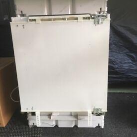 Neff Integrated built under fridge