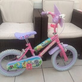 "Kids 14"" girls bike"