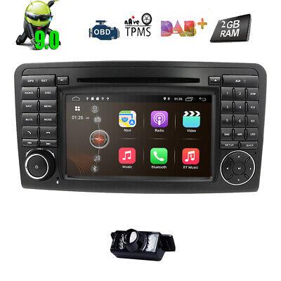 Autoradio für Mercedes Benz ML/GL-Klasse W164 X164 Android 9.0 GPS DAB+DVD 4G FM