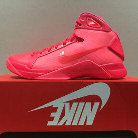 "Nike Hyperdunk '08 ""Solar Red"", Size UK 10"