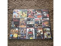 DVD Job Lot x 15 all New and Sealed (27 films) Rock of Ages,Django Unchained etc