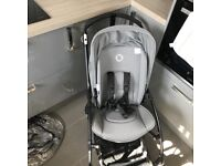 BUGABOO bee 3 in grey melage brought from new. Just over 1 year old. From smoke/pet free home.