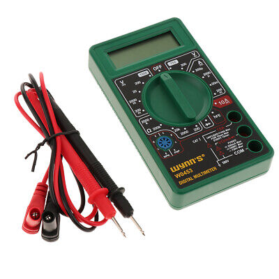 Multimeteravometer Ac Voltage Measurement With 3 Lcd Display
